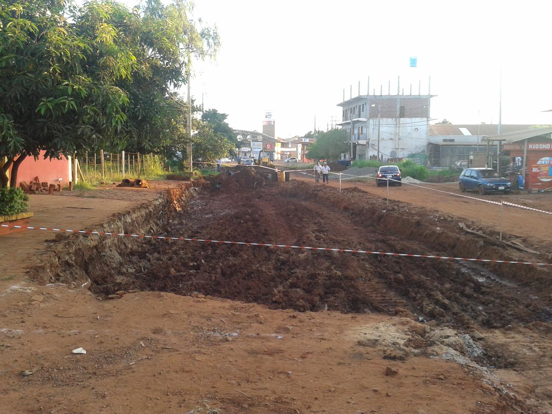 Pavimentacion Avenida en Encarnacion